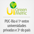 PUC-Rio é terceira do Brasil e líder entre as universidades privadas no UI GreenMetric World University Rankings 2016