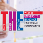 PUC-Rio é terceira colocada da América Latina no Times Higher Education Emerging Economies University Rankings 2019
